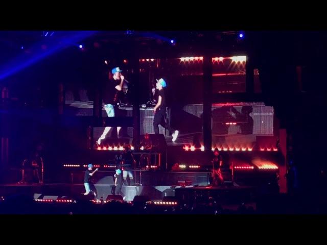 Logic has 11 yr old rap Flexicution with him on stage