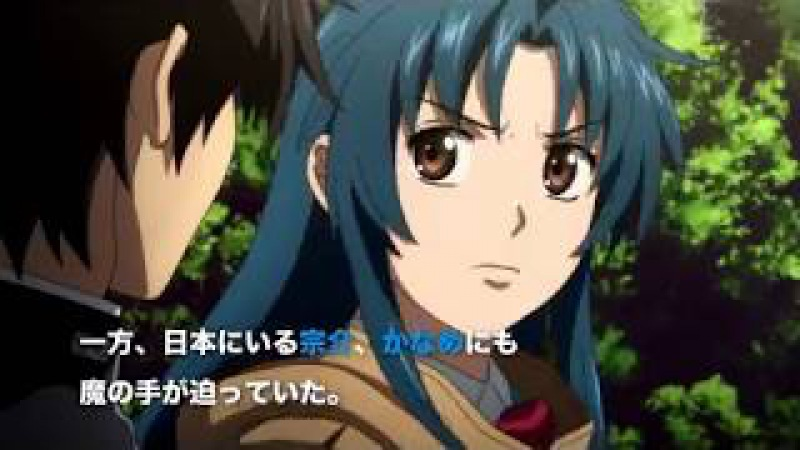 Full Metal Panic! IV Invisible Victory anime PV2
