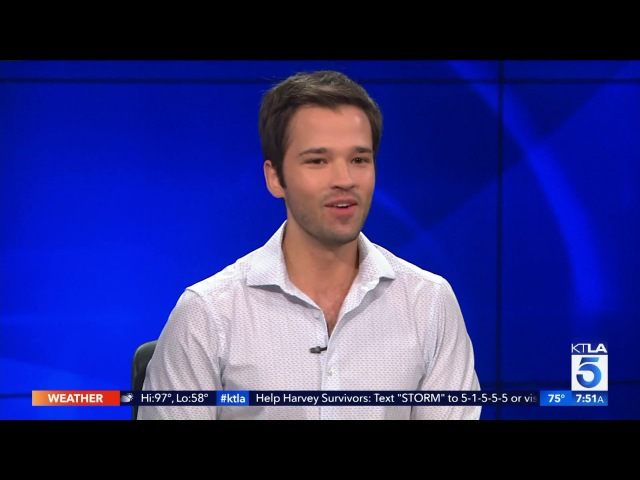 Nathan Kress Dishes On Game Shakers and Being a Dad