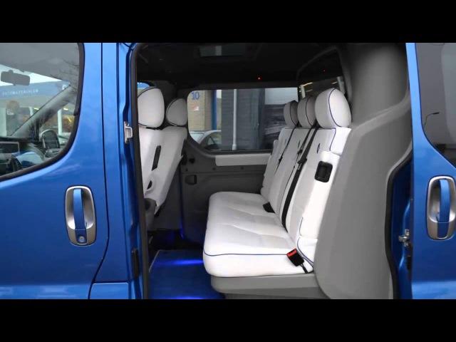 Renault Trafic T29 2.5 DCI 150PK L2H1 Leder / Navi / Dub. Cabine / PDC / Automaat