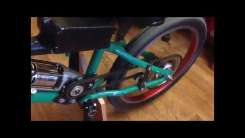 Электровелосипед с мотором от болгарки