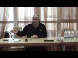 Минин В.М. - выступление 27.10.2016, обозначение целей, знакомство с новичками ч1