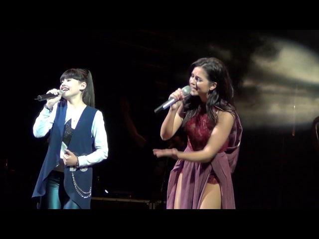 Нюша и Диана Анкудинова - Ангел (24.02.17 -Тольятти ,шоу