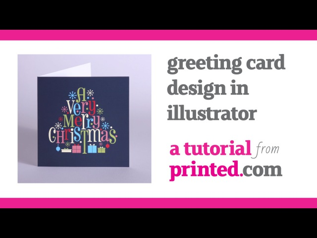 How to design greeting cards in illustrator - a printed.com tutorial