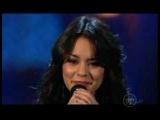 Vanessa Hudgens sings
