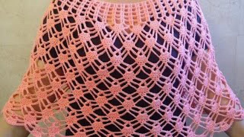 Capita de piñitas tejido muy facil