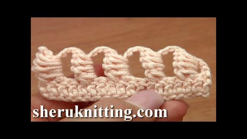 Crochet Bullion Block Stitch Tutorial 40 Part 6 of 7 Way to Work The Bullion Block