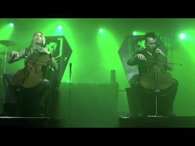 Apocalyptica - Master of Puppets (live)