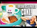 How to Make CAKES that look like Croissants Fruit Bowl and Cappuccino for Mother's Day Surprise