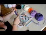 Graphgan c2c part 1 -Crochet- Tutorial - English