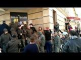 Автомайдан в Одессе заблокировал Альфа-банк