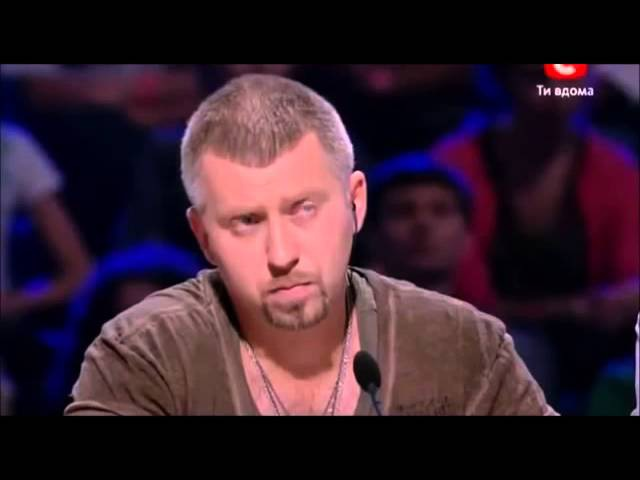 Judges didnt believe its her real voice! English subtitles. Ukraine X-factor.