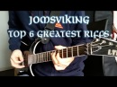 Amon Amarth - Top 6 GREATEST Riffs From Jomsviking - Guitar Medley