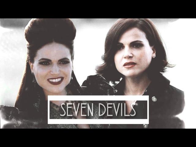 The Evil Queen Regina Mills || Seven Devils