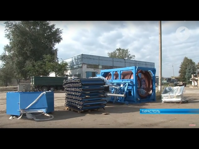 В столице приступили к монтажу мусоросортировочного комплекса