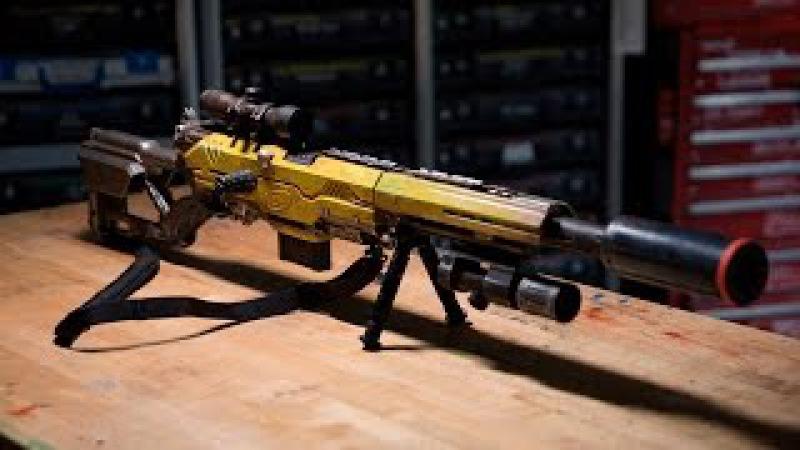 Оружие НЕРФ, оружие СУПЕРГЕРОЕВ, а также оружие из фильмов и игр своими руками