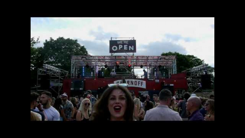 TENSNAKE twisted disco set at SmirnoffHouse, Lovebox