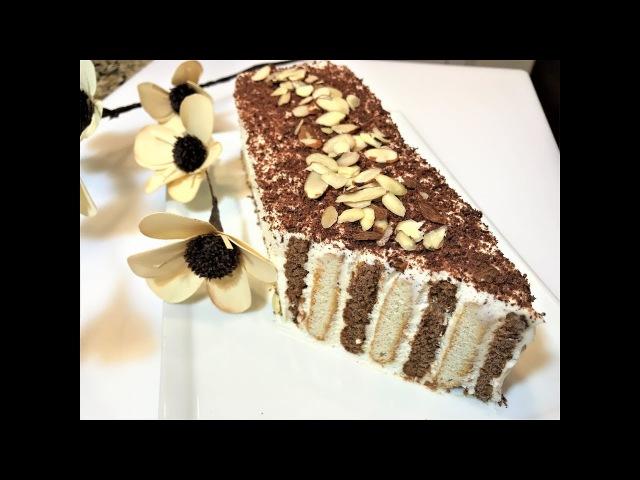 Торт Без Выпечки ЖЕНСКАЯ ЛОГИКА. Простой рецепт. Cake Dessert .