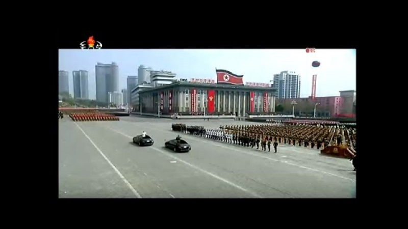 LIVE: Military parade in Pyongyang, North Korea to mark 105th anniversary of founding leader's birth
