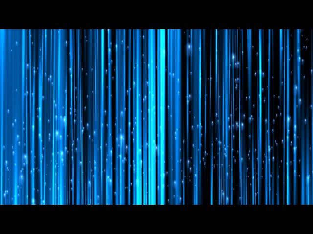 8K Blue Comet Field Flying Up 4320p Motion Background