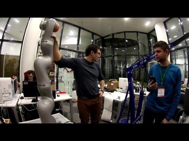 Лаборатория робототехники университета Иннополис