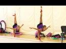 300 гимнасток со всей России соревнуются в Юг Спорте