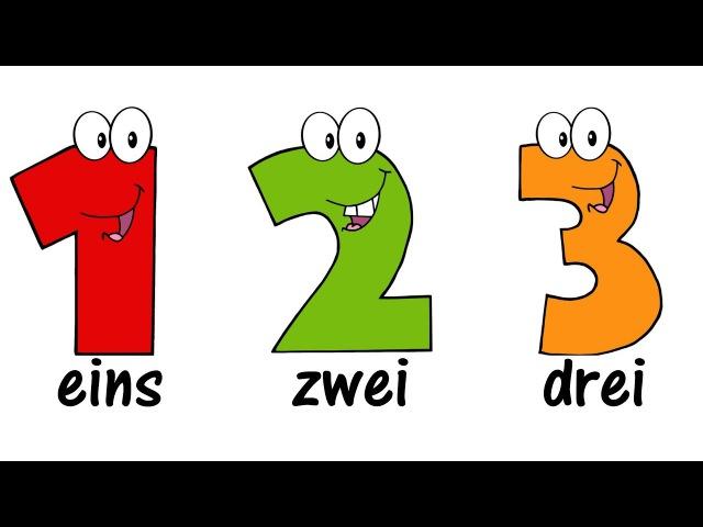 ♫ GERMAN Numbers Song 1-20 ♫ Zählen von 1 bis 20 ♫ Zahlenlied ♫ Zahlen Lernen