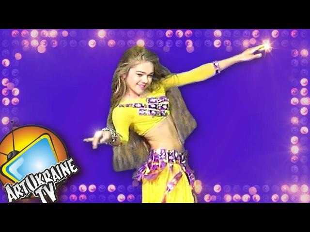 Raks Sharki Belly Dance ☀ Alina Kharchenko ☀ FINAL Solo Juniors ☀ Ukraine Competitions