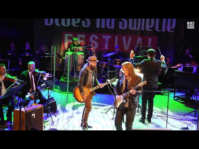"""Matt Schofield, Henrik Freischlader Big Blues Orchestra """"Everyday I Have the Blues"""""""