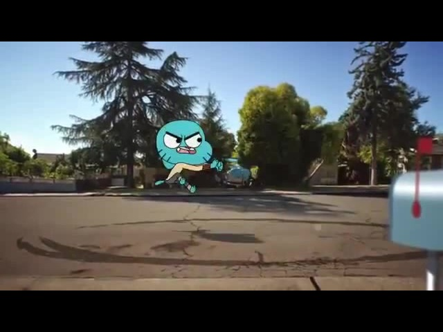 Invisible Car Chase I The Amazing World of Gumball I Cartoon Network