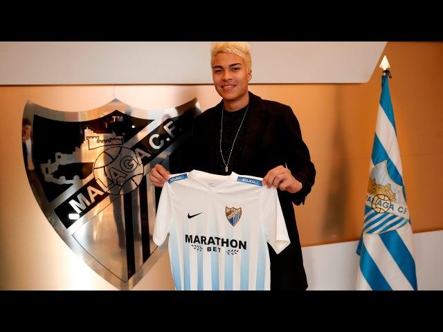 Peñaranda refuerza la delantera del Málaga CF