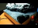 Создание воды на диораме Creation of water on a diorama