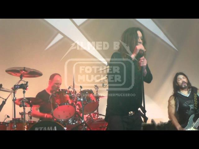Metallica w/ Geezer Butler Ozzy Osbourne Iron man LIVE San Francisco, USA 2011-12-10 1080p FULL HD