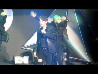 [FANCAM] 170304 INFINITE Rally Fanmeeting 3 Day 2 - D.N.A (Korea ver.) SungKyu focus