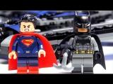 LEGO DC Super Heroes 76046 Герои правосудия: битва в небе - Лего Бэтмен против Лего Супермена