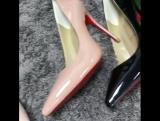 Новая коллекция)  Christian Louboutin туфли 👠 каблук 10 см new collection 2017-2018  хит продаж 😍😍😍 копия люкс с документами нат