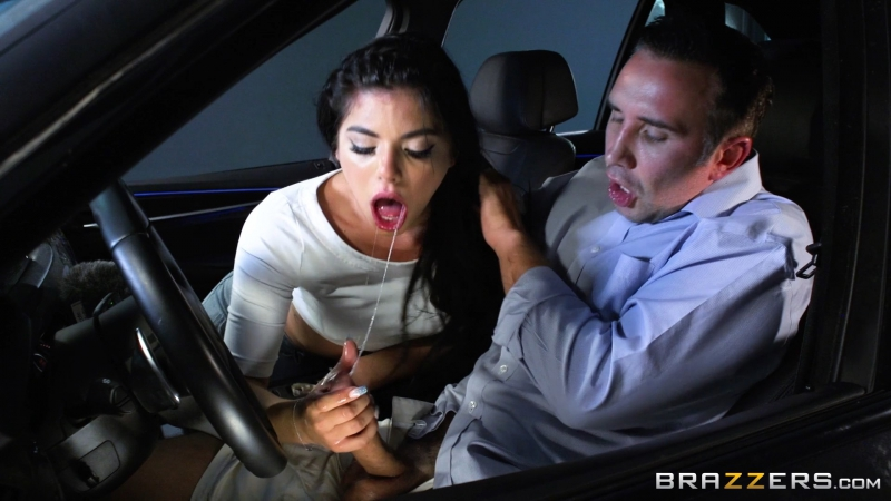 Gina Valentina ( Driving The Babysitter Wild) 2017, Big Dick, Cunnilingus, Deep Throat, Facial, Hardcore,