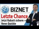 Biznet letzte Chance Erfahrung und Präsentation deutsch