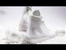 ALL WHITE! The Converse Chuck Taylor All Star x Nike Flyknit Goes All White