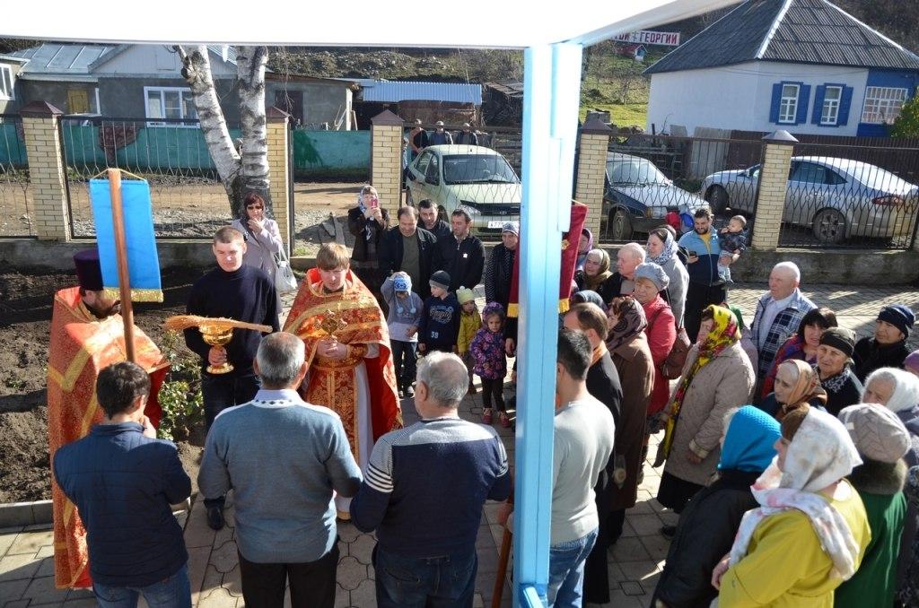 В Хасаут-Греческом отметили Престольный праздник