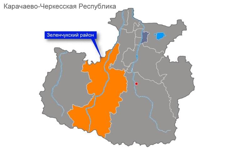 В Зеленчукском районе найдены скелетированные останки человека