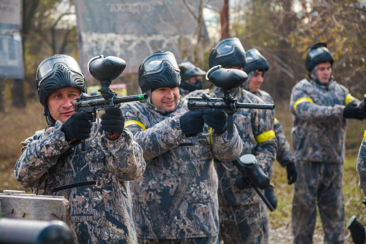 Полицейские из Зеленчукского района призеры командного чемпионата по пейнтболу