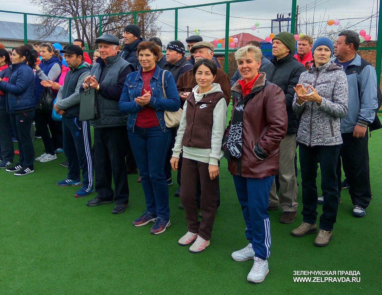 Учителя из Зеленчукского района призеры спартакиады работников образовательных организаций республики