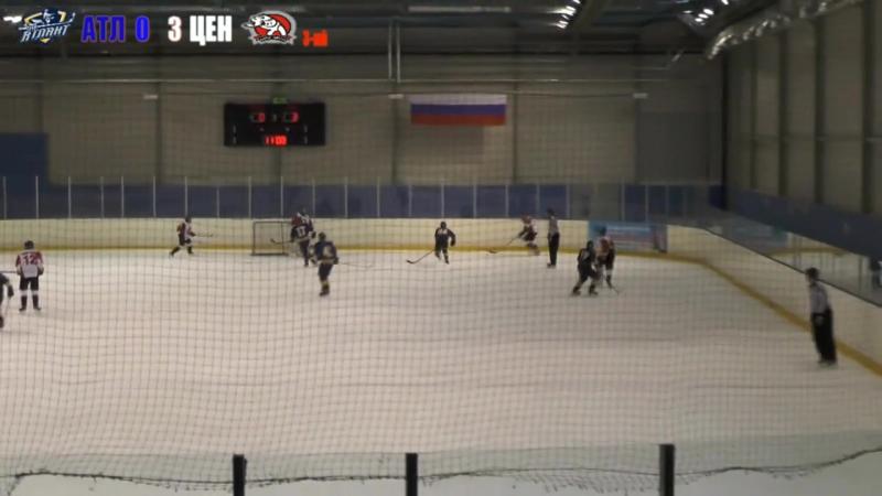 05.02.17 годАТЛАНТ(Мытищи)-ЦЕНТР(Москва) 3-ий период.