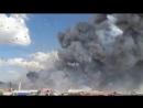Пожар на рынке фейерверков (6 sec)