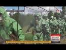 Ядовитая атака войска РХБЗ спасли войска от заражения неизвестным веществом