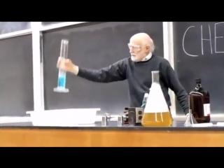 Опыты на уроке химии