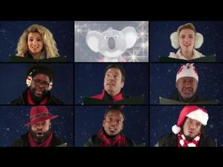 Рождественская песня Джимми Феллона с Полом Маккартни и Скарлет Йохансон