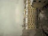 Белый снег,серый лёд(Виталий перед прыжком-решается)