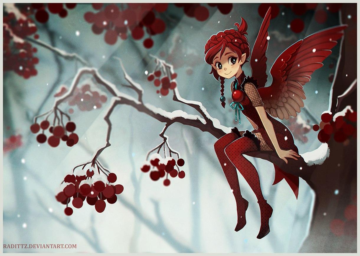 красная фея